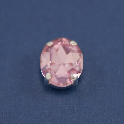 Страз стекло совал розовый