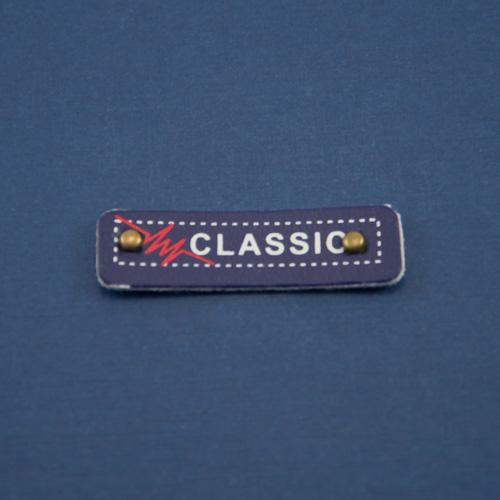 Нашивка маленькая синяя CLASSIC