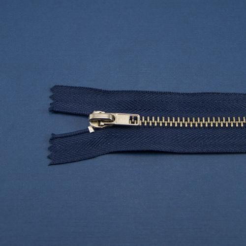 Молния синяя металл никель, 18 см