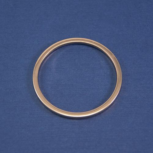 Кольцо декоративное золото