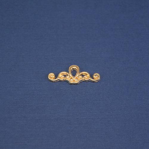 Логотип золото ажурный 15