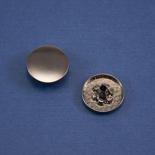 Кнопка гладкая установочная оксид