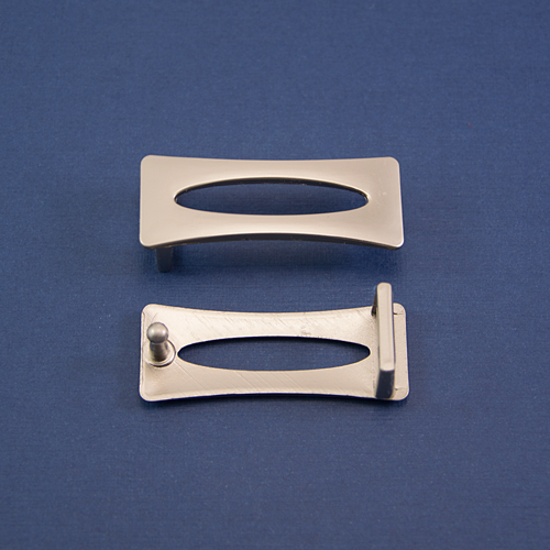Пряжка ПРМ-001-мат никель