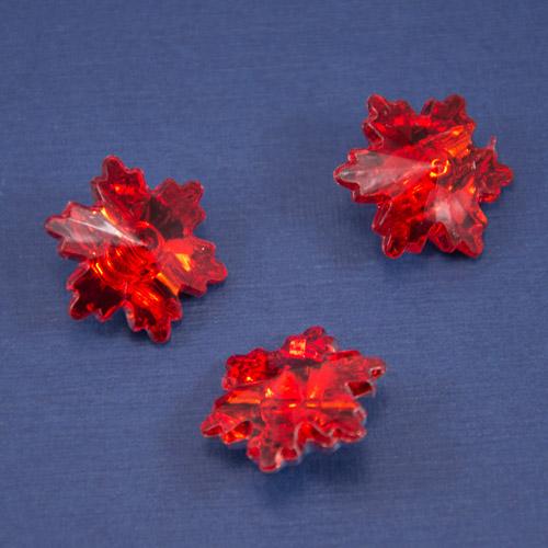 Пуговица ПП-089-красный